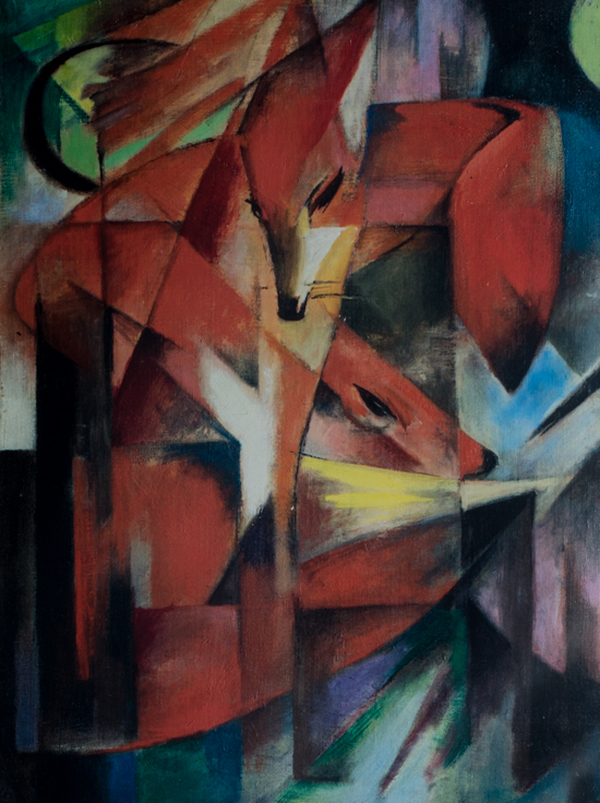 Franz Marc : The foxes