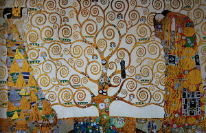Puzzle Gustav Klimt : The tree of life