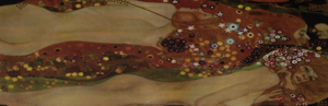 Puzzle Gustav Klimt : Sea Serpent IV (panoramique)