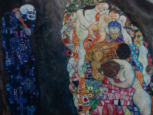 Puzzle Gustav Klimt : Death and Life