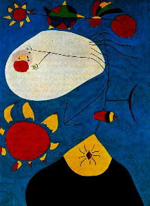 Puzzle Joan Miro : Retrait IV