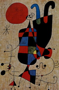 Puzzle Joan Miro : Upside-Down Figures