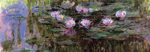 Puzzle Claude Monet : Nympheas