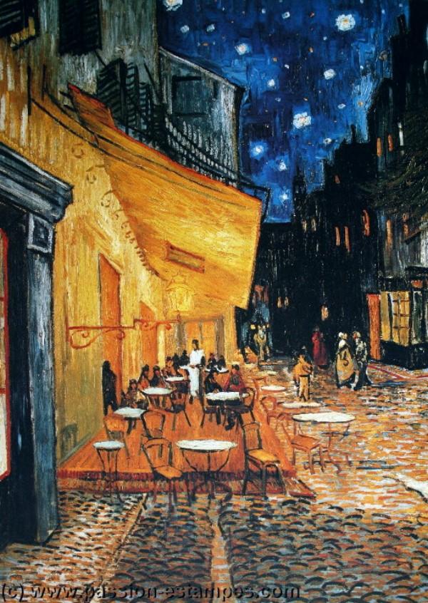 Puzzle D Art 1000 Pi 232 Ces Van Gogh Terrasse De Caf 233 De Nuit