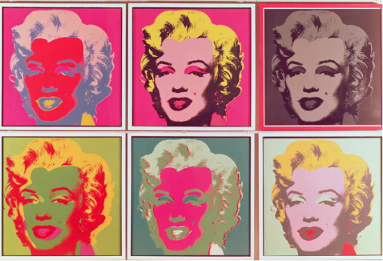 Andy Warhol : Marilyn