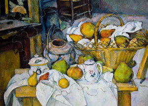 Jigsaw puzzles for Kids Cézanne : Still life