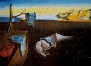 Jigsaw puzzles for Kids Dali : Persistence of Memory