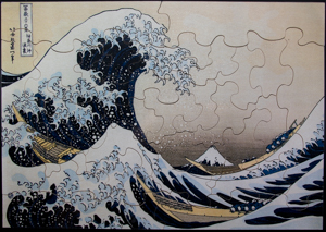 Jigsaw puzzles for Kids Hokusai : The Great Wave of Kanagawa