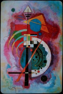 Puzzle Kandinsky per bambini : Hommage � Grohmann