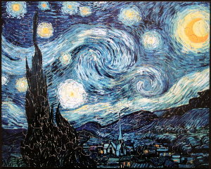 Vincent Van Gogh puzzle for kids : Starry Night