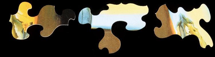 Salvador Dali : Persistence of Memory : Art wooden Puzzle 24