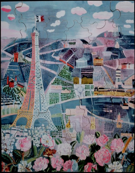 Raoul Dufy : Paris au Printemps