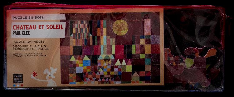 Paul Klee Castle And Sun Art Wooden Puzzle 24 Pieces