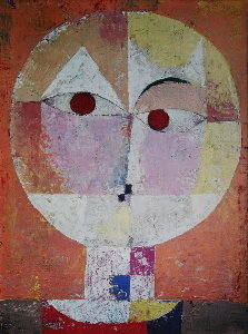 Paul Klee canvas print :  Senecio