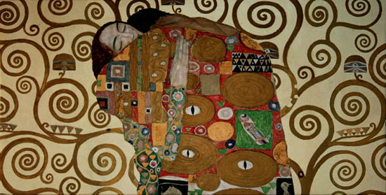 Canvas Gustav Klimt, Fulfilment