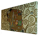 Canvas Gustav Klimt, Fulfilment 100 x 50 cm