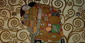 Gustav Klimt canvas print : Fulfilment