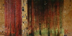 Gustav Klimt canvas print : Forest I