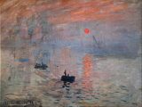 Tela Claude Monet, Impressione, sole levante