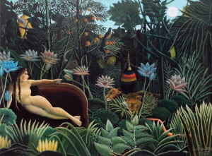 Henri Rousseau canvas print :  The dream