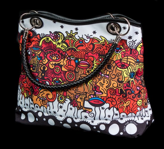 Billy the artist handbag : Two in one