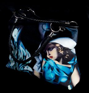 Tamara De Lempicka Handbag : Woman with Gloves