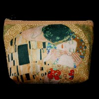 Gustav Klimt Carryall sleeve : The kiss