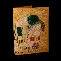 Gustav Klimt Credit and business cards holder : The kiss