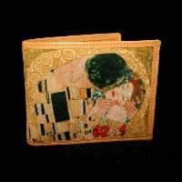 Gustav Klimt Credit card wallet : The kiss