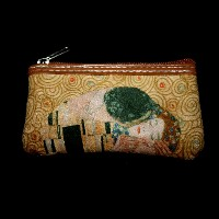 Gustav Klimt Wallet and key holder : The kiss
