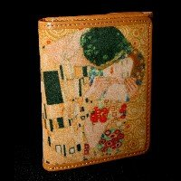 Gustav Klimt Wallet : The kiss
