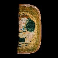 Gustav Klimt Eyeglass Case : The kiss