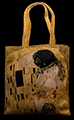 Gustav Klimt handbag : the kiss (detail n°1)