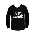 Corto Maltese T-shirt of Hugo Pratt : Marin sur la dune (Long sleeves)