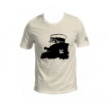Corto Maltese T-shirt of Hugo Pratt : Nocturnal (Ecru)