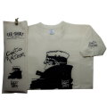 Corto Maltese T-shirt with slipcover : Nocturnal (Ecru)
