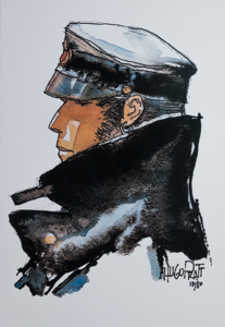 Toile Corto Maltese, Dedicated to Corto