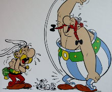 Astérix canvas prints