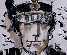 Corto Maltese canvas prints