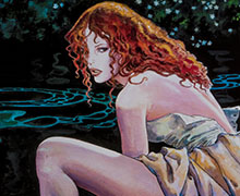 Milo Manara canvas prints